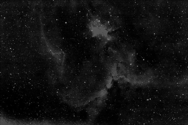 In deze mooie heldere week heb ik veel opnamen gemaakt van IC 1805, de Heart Nebula. Waarvan bijgaan