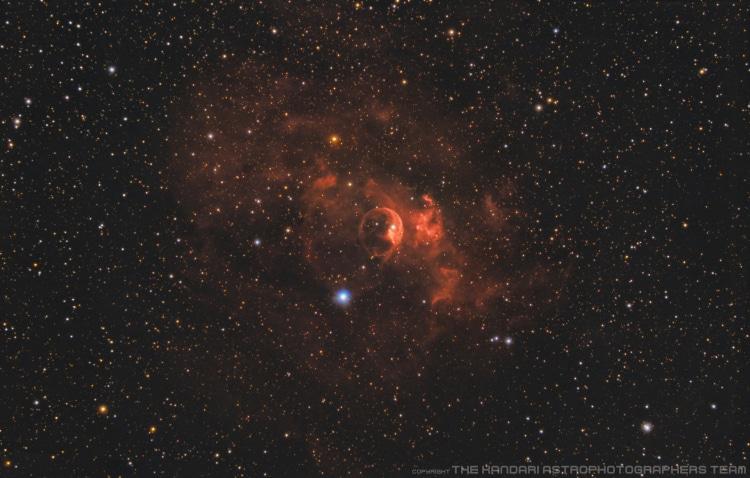 THE KANDARI ASTROPHOTOGRAPHERS TEAM @hansverheijen en @sebastiaan NGC7635 Dit is de 2de foto waarin