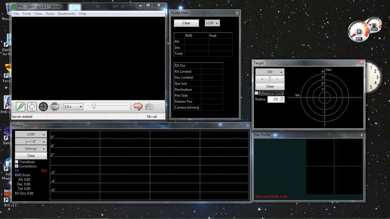 PHD2 - Autoguiding, basis snelstartgids    starry-night nl