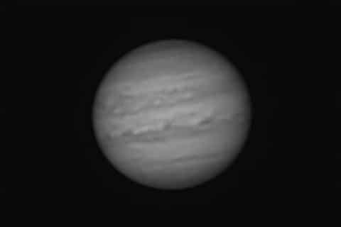 Het is en blijft moeilijk om goede opnamen te maken van Jupiter. Het vermoeden is dat het aan mijn l