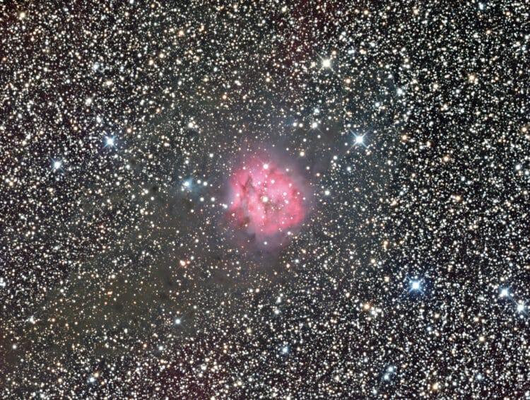 Goedenavond, In bijlage mijn laatste opname vanuit de remote sterrenwacht in Frankrijk. LRGB: 250-25
