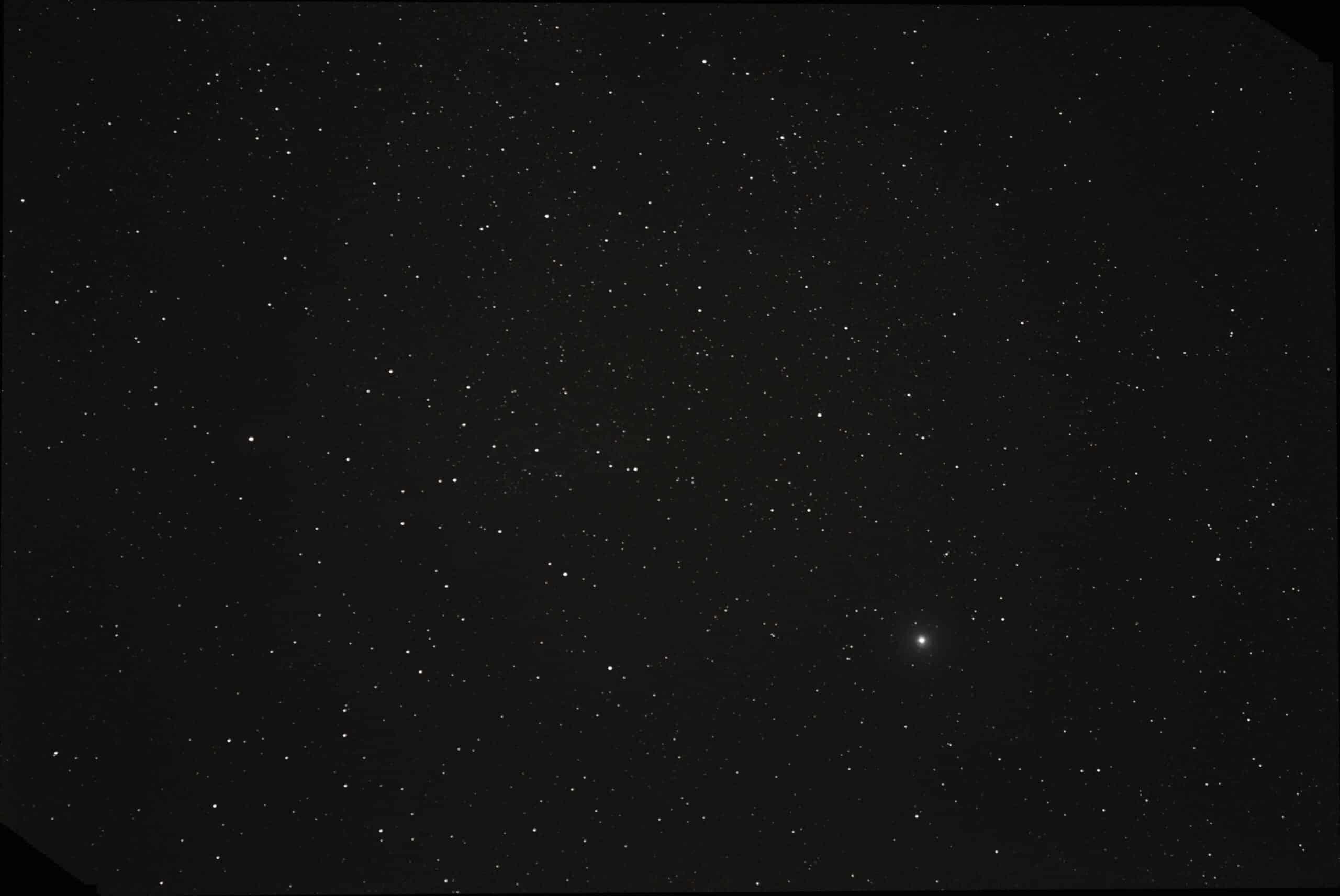 Omdat er de komende weken niet veel terecht zal komen van fotograferen van planeten heb ik gisteren