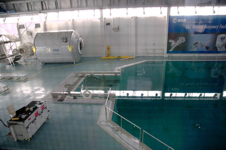 Bezoek EAC (Europees Centrum voor Astronautenopleiding Keulen) voor leerlingen en studenten. '