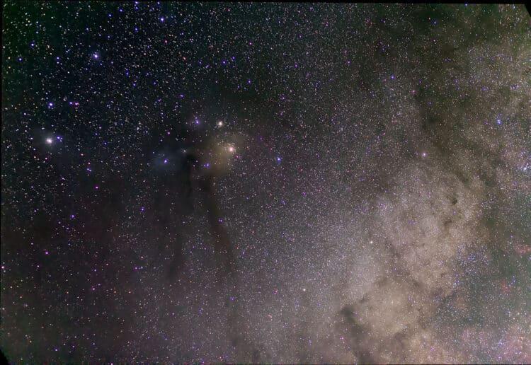 Update van mijn foto van de Schorpioen met 5 seconden frames (waren er maar 25, geen 50). @supernov: