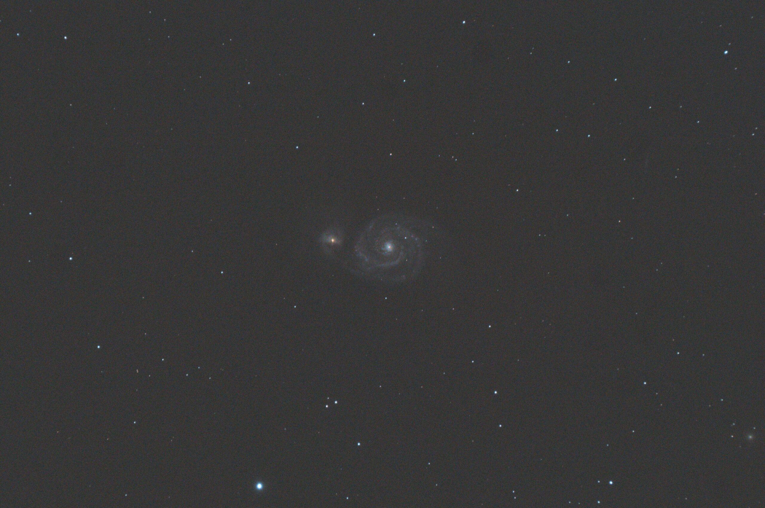 Astro Pixel Processor, M51 by Hans van Overzee
