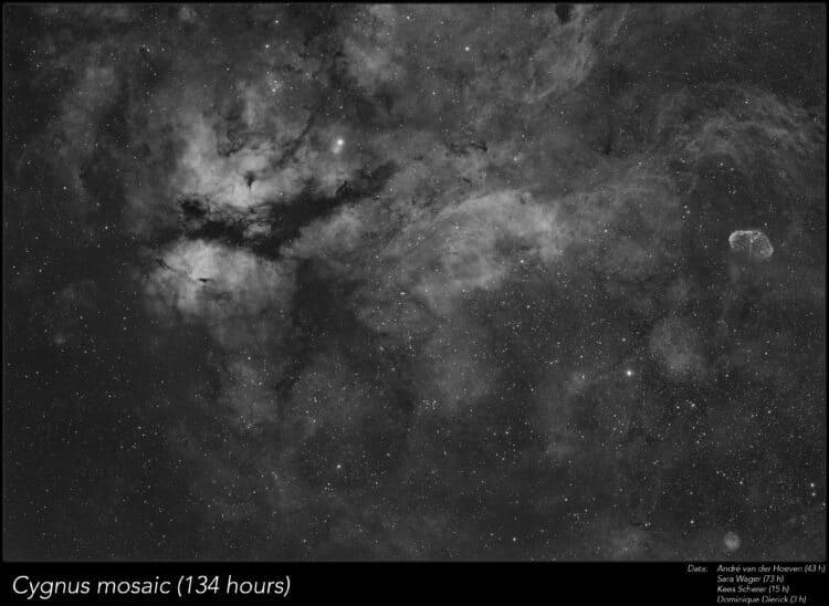 Deze opname werd in het afgelopen jaar door mijzelf en 3 mede-astrofotografen genomen, Sara Wager, K
