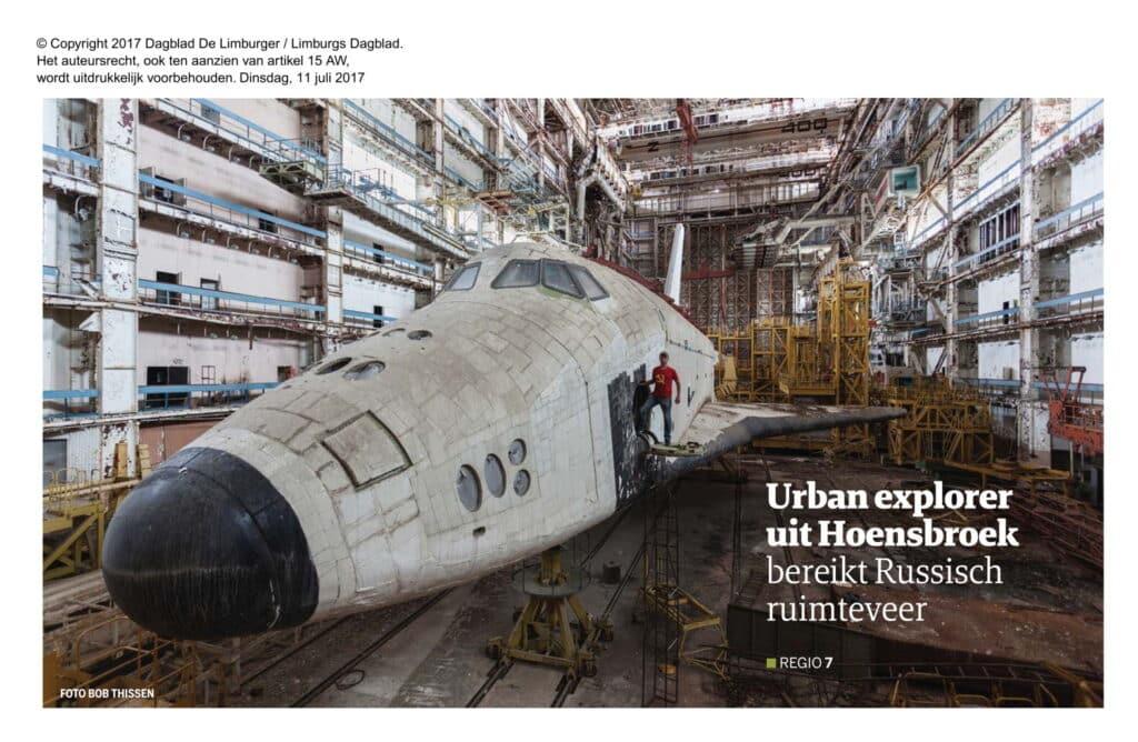 Er was natuurlijk gisteren al enige discussie over de Sovjet Shuttle (her en der), hier dan de achte