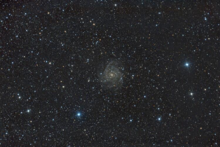 Object: IC342 Opnamedatum: 14-10-2017 Lokatie: Lalobbe – Frankrijk Montering: Avalon Linear Te