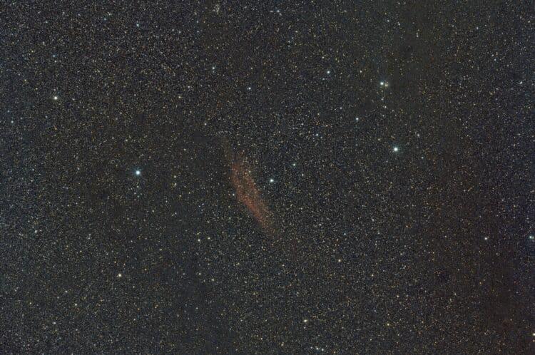 Object: NGC1499 California Nebula OpnamedatumL 16-10-2017 Lokatie: Lalobbe – Frankrijk Monteri