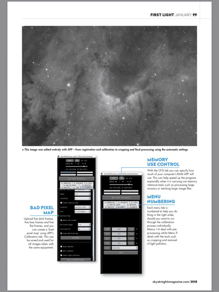 Ik kwam toevallig deze introductie van APP in het Sky At Night magazine tegen. Veel plezier met leze