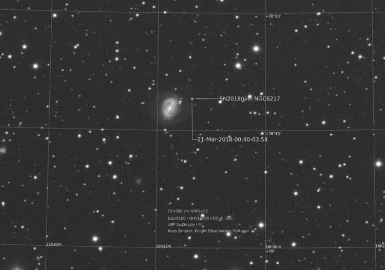 """Update, opname van """"vanmorgen"""" 00:40-03:54 . (67 Miljoen lichtjaar…) De oogst is w"""