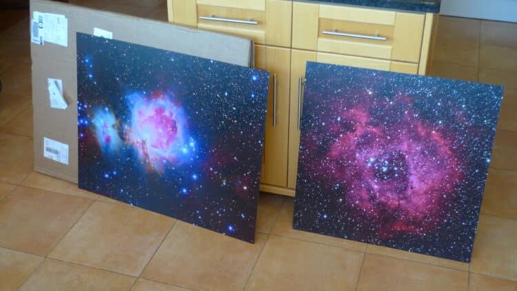 Inmiddels heb ik in het afgelopen jaar 3 opties (plexiglas, canvas en Aluminium) van foto.com gete