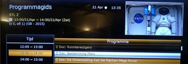 RTL-Z is mooie documentaires aan het uitzenden. P1100722