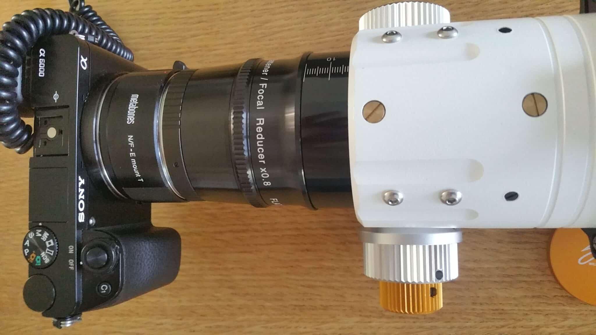 Gisteren ben ik de trotse eigenaar geworden van een heuse refractor telescoop…en wat voor eent
