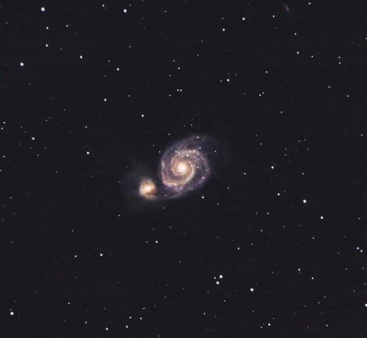 M51 nog ruim een uur toegevoegd aan de data, nu totaal ca 4 uur en 40 minuten. Bestaande uit 47x 1,5
