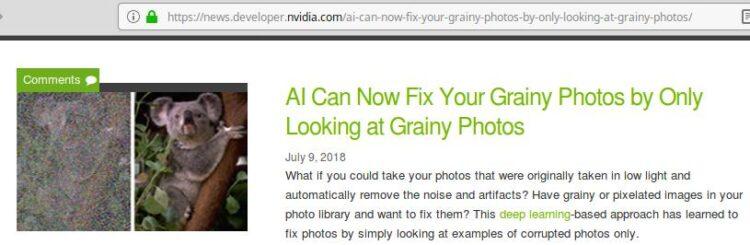 Dit gaat denk ik een revolutie worden in de Astrofotografie: Artikel op Tweakers , NVIDIA news,
