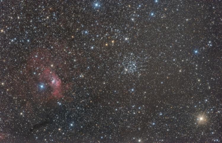 NGC 7635 of de Zeepbelnevel is een emissienevel en een H-II-gebied in het sterrenbeeld Cassiopeia en
