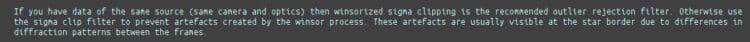 """"""" waarom ik bij sommige oranje sterren, rode pixels zie in de rand…"""" Tip2; Zie het derde blok"""