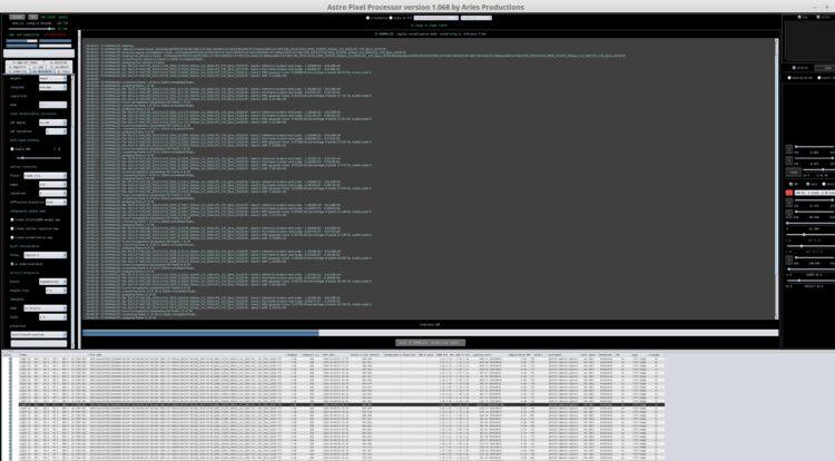 APP 1.068 aan het werk. Nog steeds een vergrootglas nodig (Linux Mint 18.3 Cinnamon op Hi-DPI 4K sch