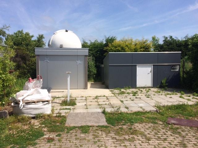 Met Hemelvaart hebben we een huisje gehuurd in Oostkapelle, behorend tot het Astroproject Oostkapell