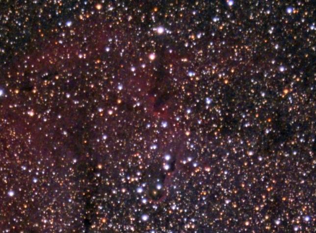 Ik zat vanochtend nog even te kijken naar dat onwijze sterrenveld dat Dick op de foto gezet had en v