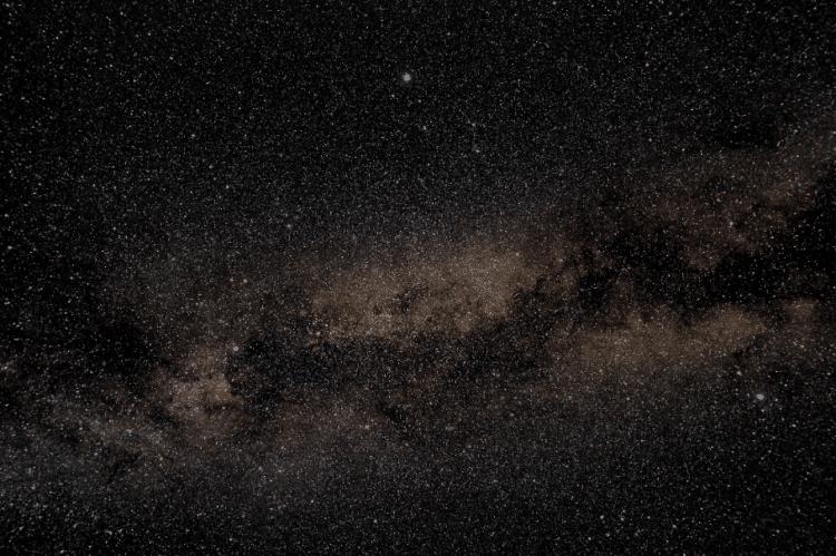 Nog een foto van de Melkweg op 28 juli nabij het sterrenbeeld de Zwaan. De locatie was wederom Saint