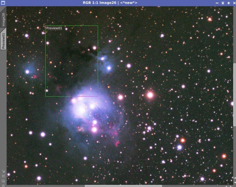 Ja, dat heeft heel veel zin. Geen Ha, want er is hier geen Ha te vinden denk ik, NGC7129 is een refl