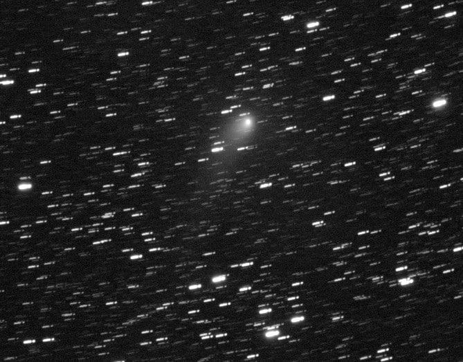 Eergisteren was het een paar uur helder. O.a. de helderste komeet C/2017 T2(PANSTARRS) van dit momen