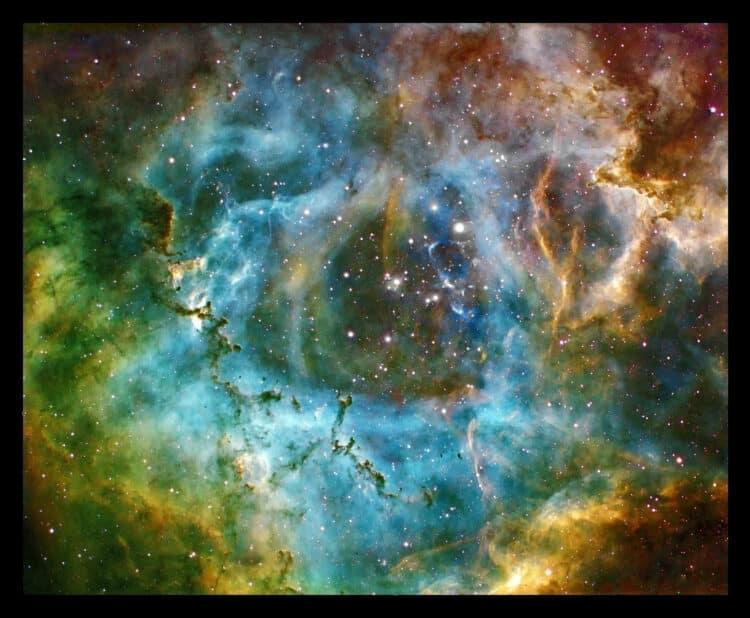 Rosette Nebula — Astrodon 3nm H-Alpha – Green (13 x 1800s at -40C) Astrodon 3nm NII &#82