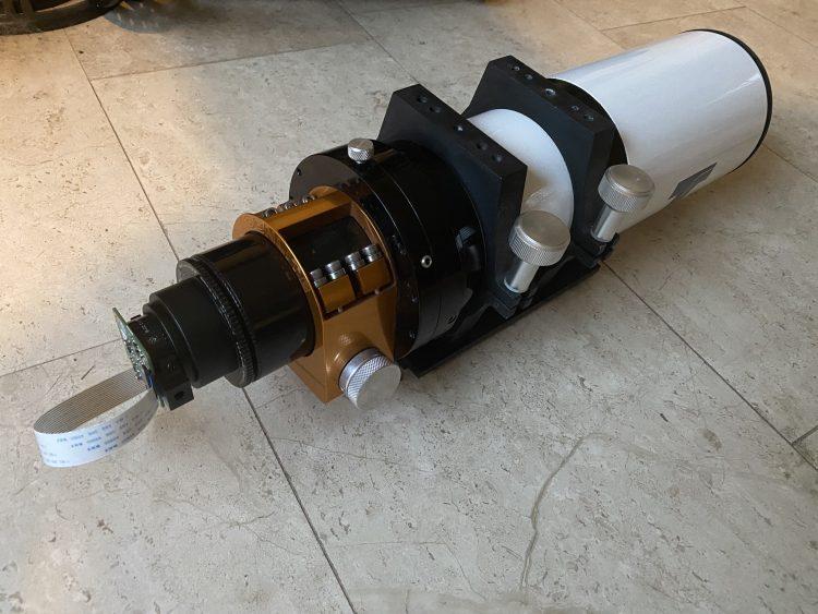 De sensor aan de TS 80/480 APO: IMG_5276