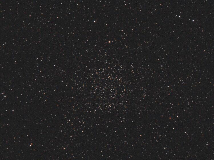 NGC 7789 opgenomen 15-9-2020, ontdekt door Caroline Herschel. Helaas kwamen die nacht de wolken opze