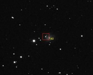 De gebruikelijk methode om nova te detecteren is twee opnames te vergelijken. Dit proces is voor pro