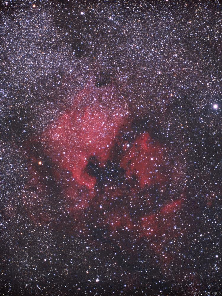 Toen ik begon met astrofotografie heb ik gewerkt met een Olympus OM-1 kleinbeeldcamera. Uiteraard vo